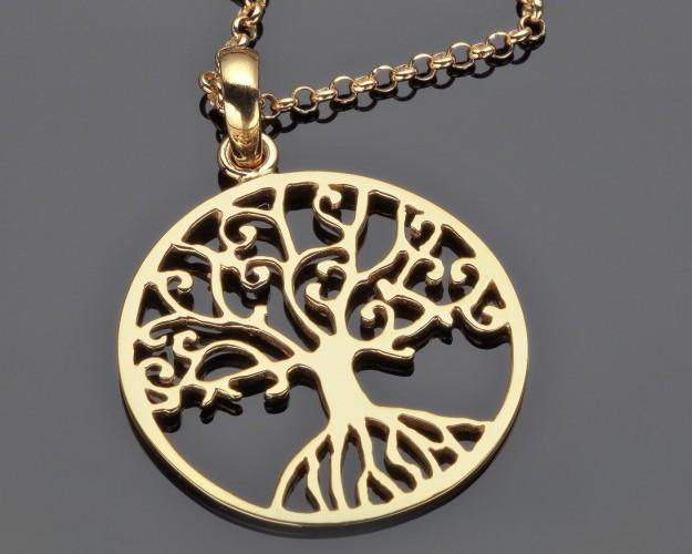 Kette Lebensbaum Schmuck Online Tree Of Life Jewellry