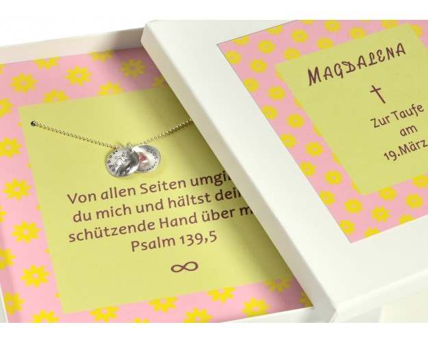 Schmuck Schachtel Personalisiert Als Geschenk Zur Taufe
