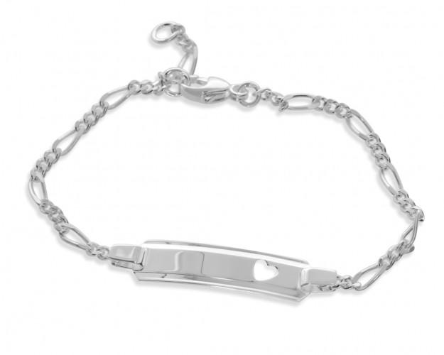 ID Armband 925 Silber Gravur Armband Kinder Baby