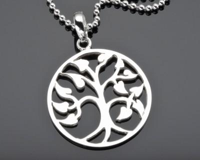 LEBENSBAUMSCHMUCK, TREE OF LIFE KETTE, SILBERSCHMUCK ONLINE