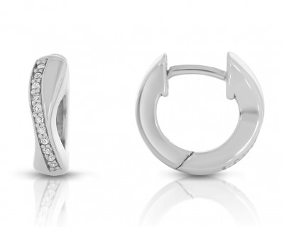Elegante Ohrringe aus 925er Sterling Silber Creolen
