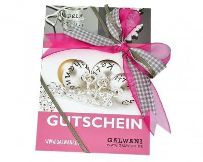 Gutschein über 25€ bei GALWANI kaufen