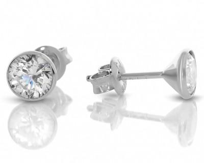 Ohrstecker Zirkonia 925 Silber Damenschmuck Silber Ohrringe